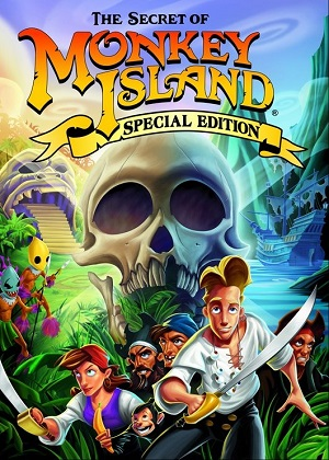 The Secret of Monkey Island: Special Edition Poster