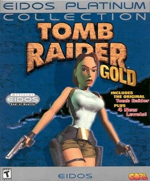 Tomb Raider Gold Poster