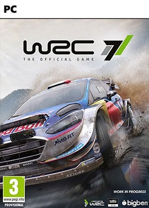 WRC 7 Poster