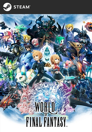 World of Final Fantasy Poster