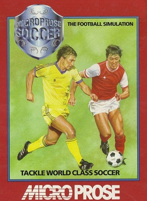 Microprose Soccer Poster