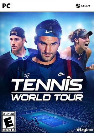 Tennis World Tour Poster