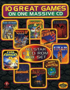 10 Great Games on One Massive CD