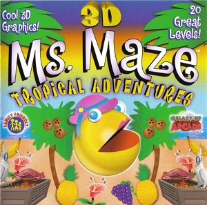 3D Ms. Maze Tropical Adventures