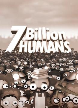 7 Billion Humans Poster