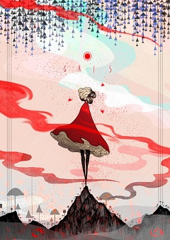 Gris Poster
