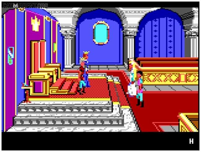 King's Quest IV: The Perils of Rosella скачать торрент  Rosella Kings Quest