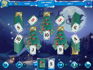 Кадры и скриншоты Solitaire Jack Frost Winter Adventures
