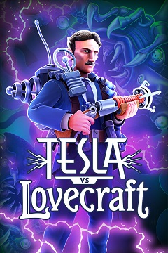 Постер Tesla vs Lovecraft