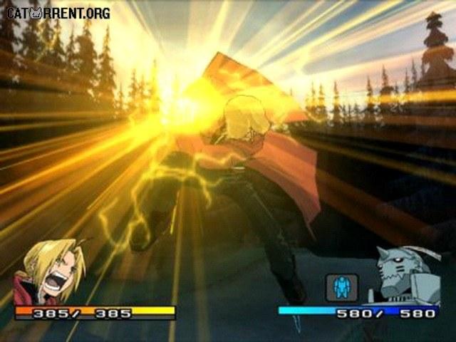 Fullmetal Alchemist 2: Curse of the Crimson Elixir (PS2) скачать торрент