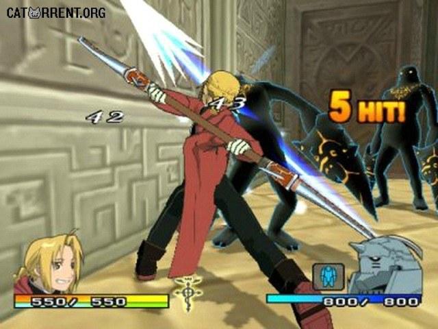 Fullmetal Alchemist 2: Curse of the Crimson Elixir (PS2 ...