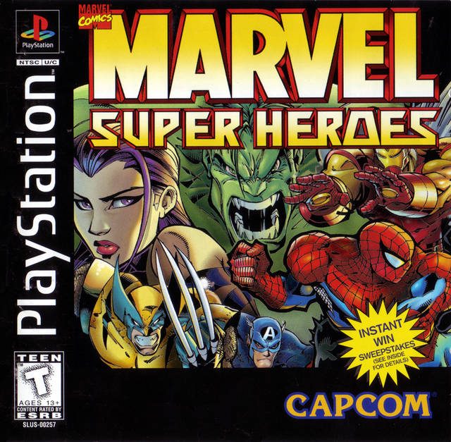 Marvel Super Heroes (PS)